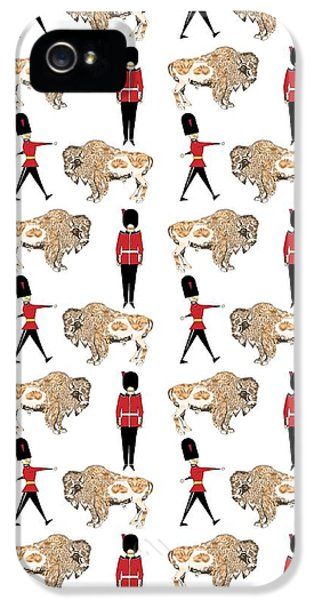 Buffalo Soldier IPhone 5 Case by Beth Travers