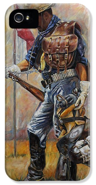 Buffalo Soldier Outfitted IPhone 5 Case by Harvie Brown
