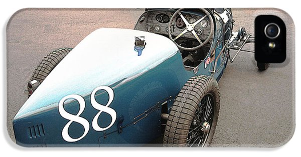 Bugatti Type 35 # 88 IPhone 5 Case by Curt Johnson
