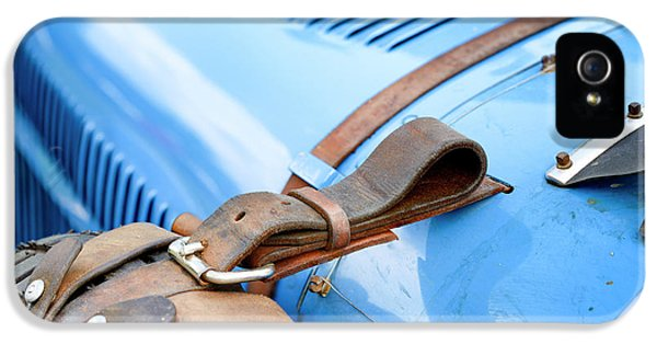 Bugatti Type 35 Vintage Race Car Detail IPhone 5 Case by Sjoerd Van der Wal