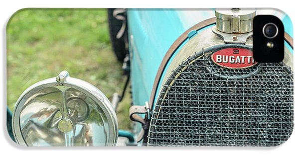 Bugatti Type 35 Vintage Race Car IPhone 5 Case by Sjoerd Van der Wal