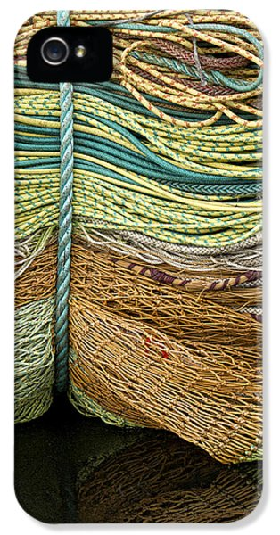 Bundle Of Fishing Nets And Ropes IPhone 5 Case by Carol Leigh