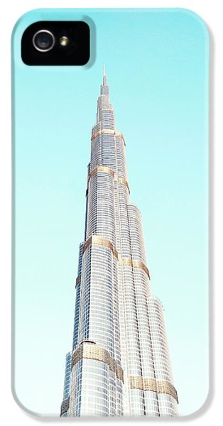 Office Buildings iPhone 5 Case - Burj Khalifa by Happy Home Artistry