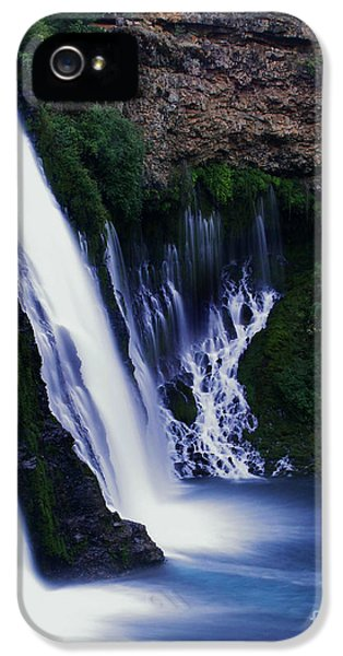 Burney Blues IPhone 5 Case by Peter Piatt