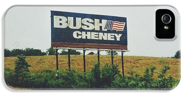 Bush Cheney 2011 IPhone 5 Case by Dylan Murphy