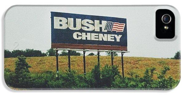 Bush Cheney 2011 IPhone 5 Case by Dylan Murphy