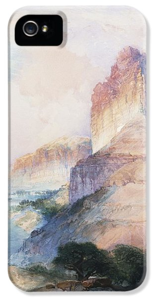 Butte Green River Wyoming IPhone 5 Case by Thomas Moran