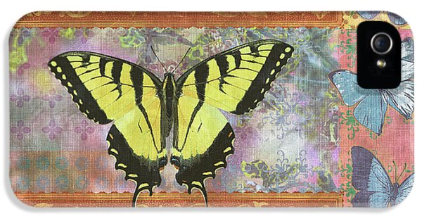 Butterfly Mosaic IPhone 5 Case by JQ Licensing