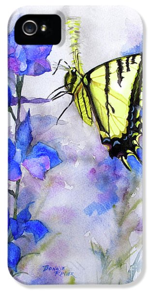 Butteryfly Delight IPhone 5 Case by Bonnie Rinier