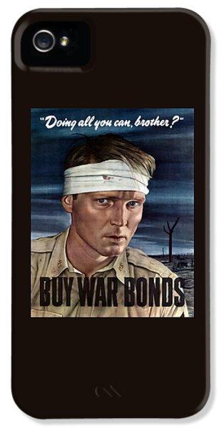 Buy War Bonds IPhone 5 Case