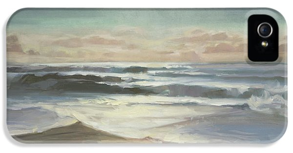 Pacific Ocean iPhone 5 Case - By Moonlight by Steve Henderson