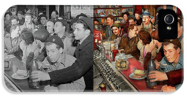 Cafe - Midnight Munchies 1943 - Side By Side IPhone 5 Case