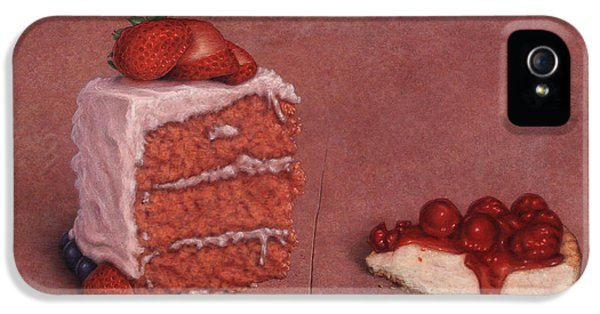 Cakefrontation IPhone 5 Case by James W Johnson