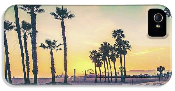 Cali Sunset IPhone 5 Case by Az Jackson