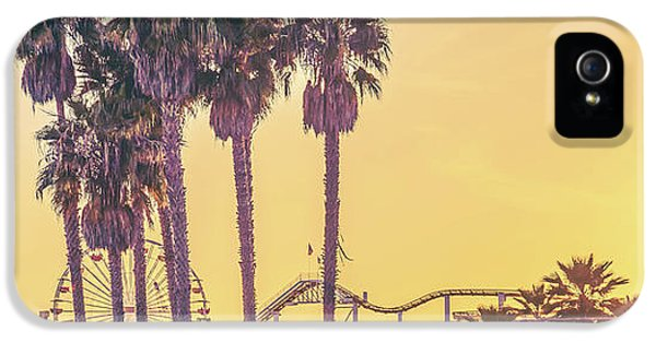 Santa Monica iPhone 5 Case - Cali Vibes by Az Jackson