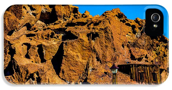 Calico Miners Shack IPhone 5 Case
