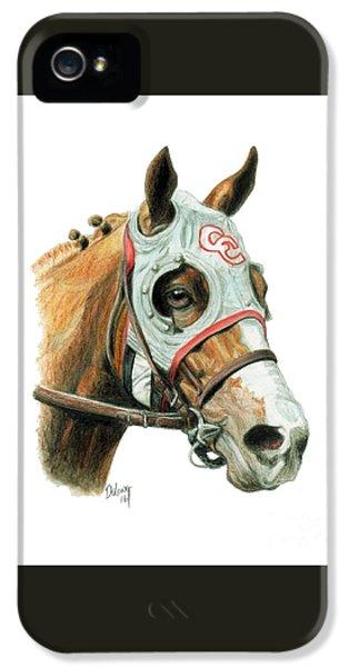 Horse iPhone 5 Case - California Chrome  2016 by Pat DeLong