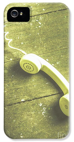 Call That Never Came IPhone 5 Case by Jorgo Photography - Wall Art Gallery