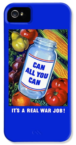 Can All You Can -- Ww2 IPhone 5 Case