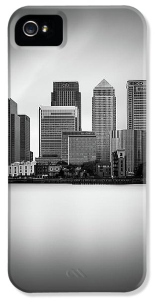 Canary Wharf II, London IPhone 5 Case by Ivo Kerssemakers