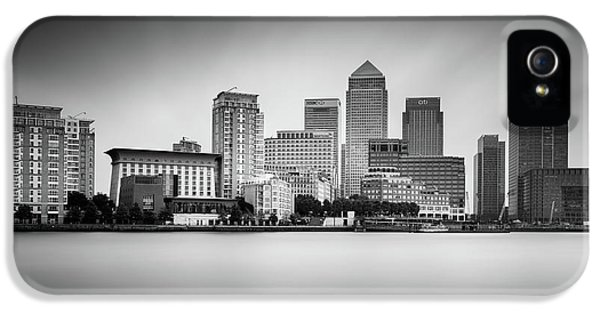 Canary Wharf, London IPhone 5 Case by Ivo Kerssemakers