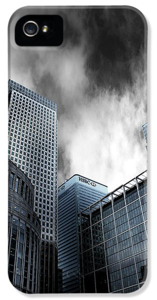 Canary iPhone 5 Case - Canary Wharf by Martin Newman