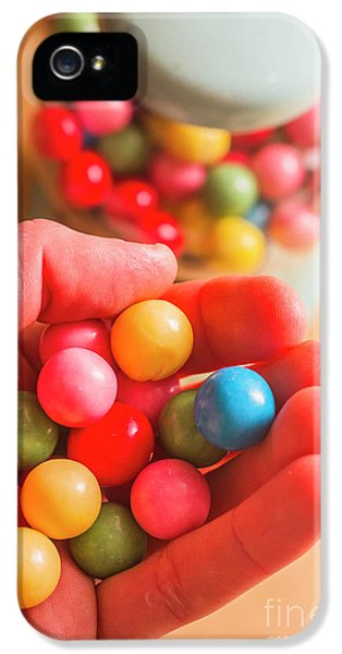 Candy Hand At Lolly Store IPhone 5 Case by Jorgo Photography - Wall Art Gallery