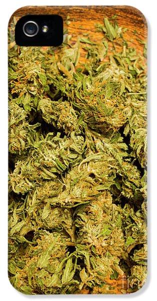 Cannabis Bowl IPhone 5 Case