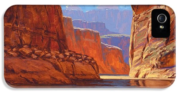 Grand Canyon iPhone 5 Case - Canyon Colors by Cody DeLong