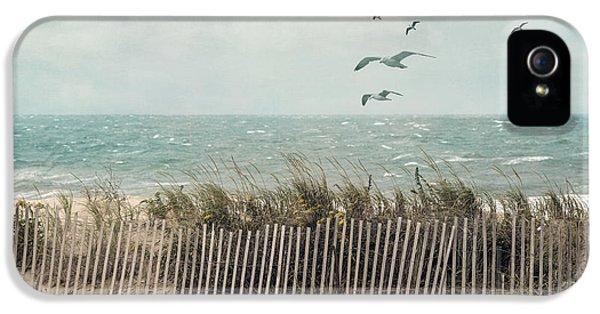Cape Cod Beach Scene IPhone 5 Case by Juli Scalzi
