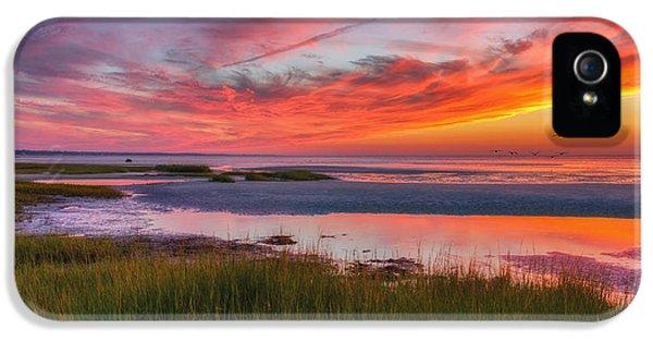 Cape Cod Skaket Beach Sunset IPhone 5 Case