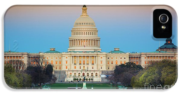 Capitol Hill IPhone 5 Case by Inge Johnsson