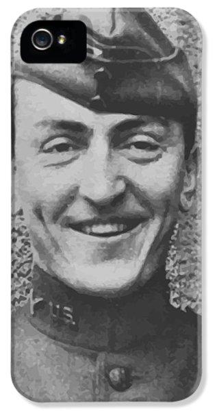 Captain Eddie Rickenbacker IPhone 5 Case by War Is Hell Store