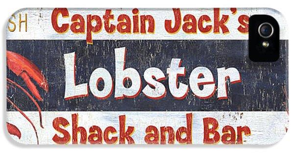 Captain Jack's Lobster Shack IPhone 5 / 5s Case by Debbie DeWitt