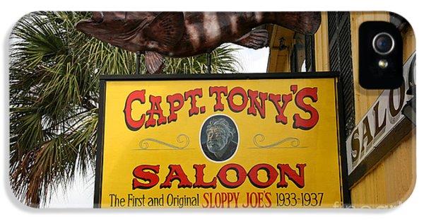 Captain Tony's Saloon Key West Florida IPhone 5 Case