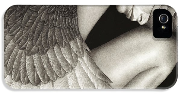 Captivity IPhone 5 Case by Pat Erickson