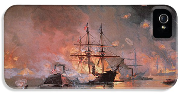 Capture Of New Orleans By Union Flag Officer David G Farragut IPhone 5 Case