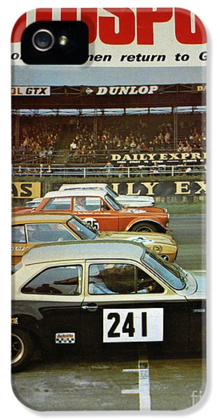 Robert Smith Music iPhone 5 Case - Car Magazine by TSB Art Gallery Dennis Thompson Jr Curator Photographer