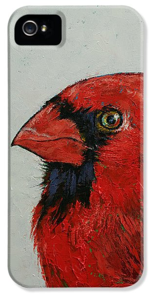 Cardinal IPhone 5 Case by Michael Creese
