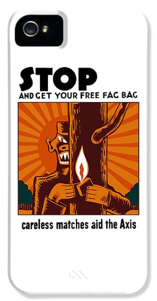 Careless Matches Aid The Axis IPhone 5 Case