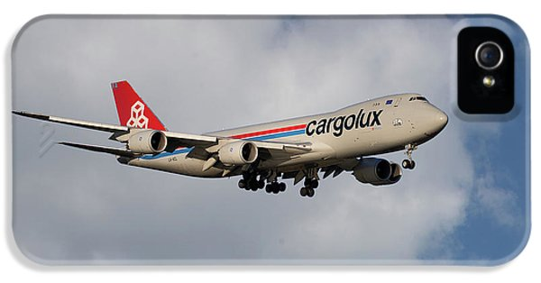Jet iPhone 5 Case - Cargolux Boeing 747-8r7 5 by Smart Aviation