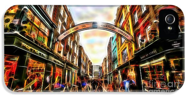 Carnaby Street IPhone 5 Case