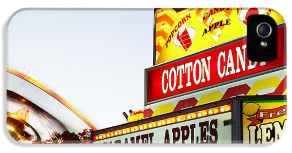 Carnival Concession Stand Sign And Ride IPhone 5 Case