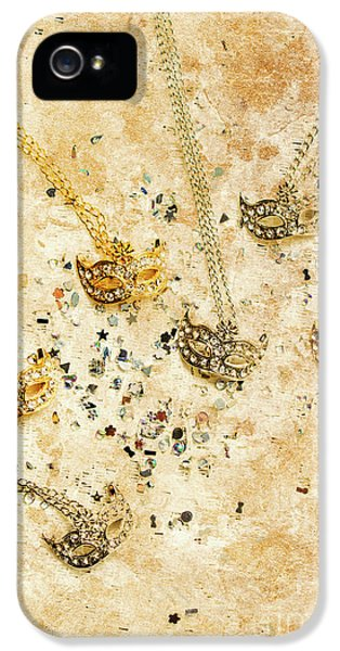 Carnival Masquerade Jewels IPhone 5 Case by Jorgo Photography - Wall Art Gallery