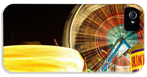 Carnival Rides At Night Picture IPhone 5 Case