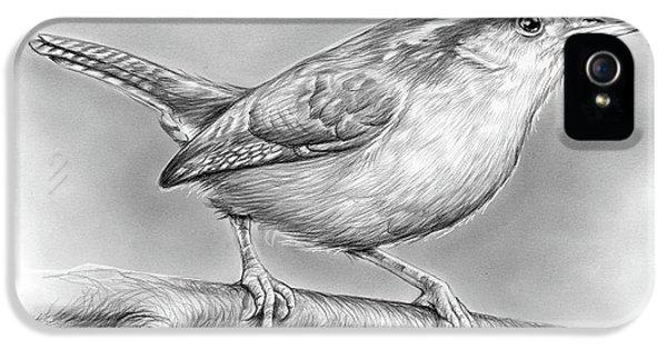 Wren iPhone 5 Case - Carolina Wren by Greg Joens