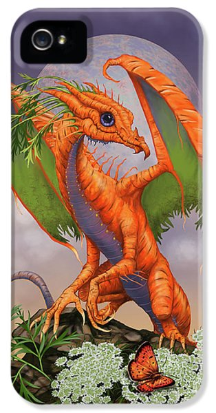 Carrot iPhone 5 Case - Carrot Dragon by Stanley Morrison