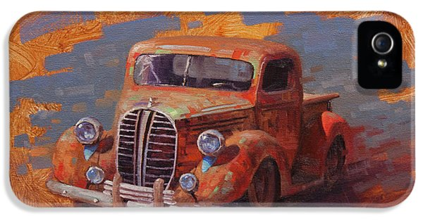 Truck iPhone 5 Case - Cascading Color by Cody DeLong