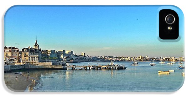 iPhone 5 Case - Cascais Marina by Onthe Runaway