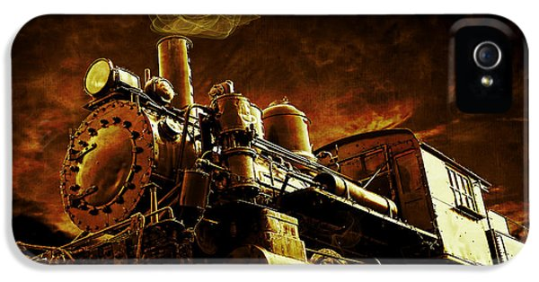 Casey Jones And The Cannonball Express IPhone 5 Case by Edward Fielding